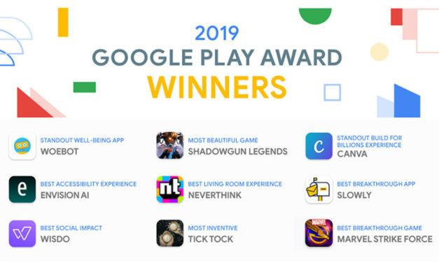 Las mejores aplicaciones del año de Google Play Store