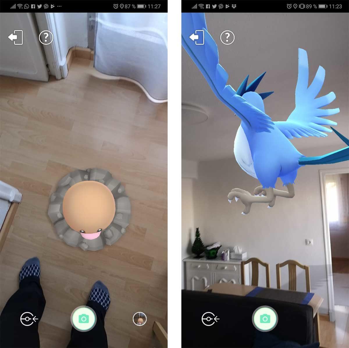 Pokémon GO servicios de google play para ra