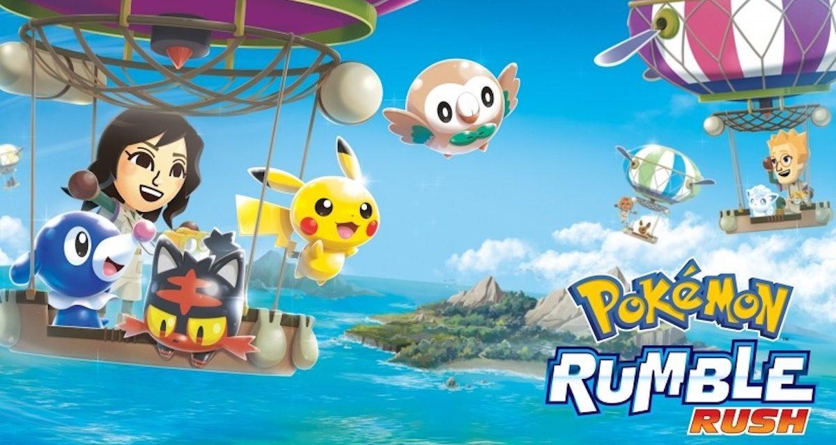 Descarga ya Pokémon Rumble Rush, el nuevo juego de Pokémon en Android