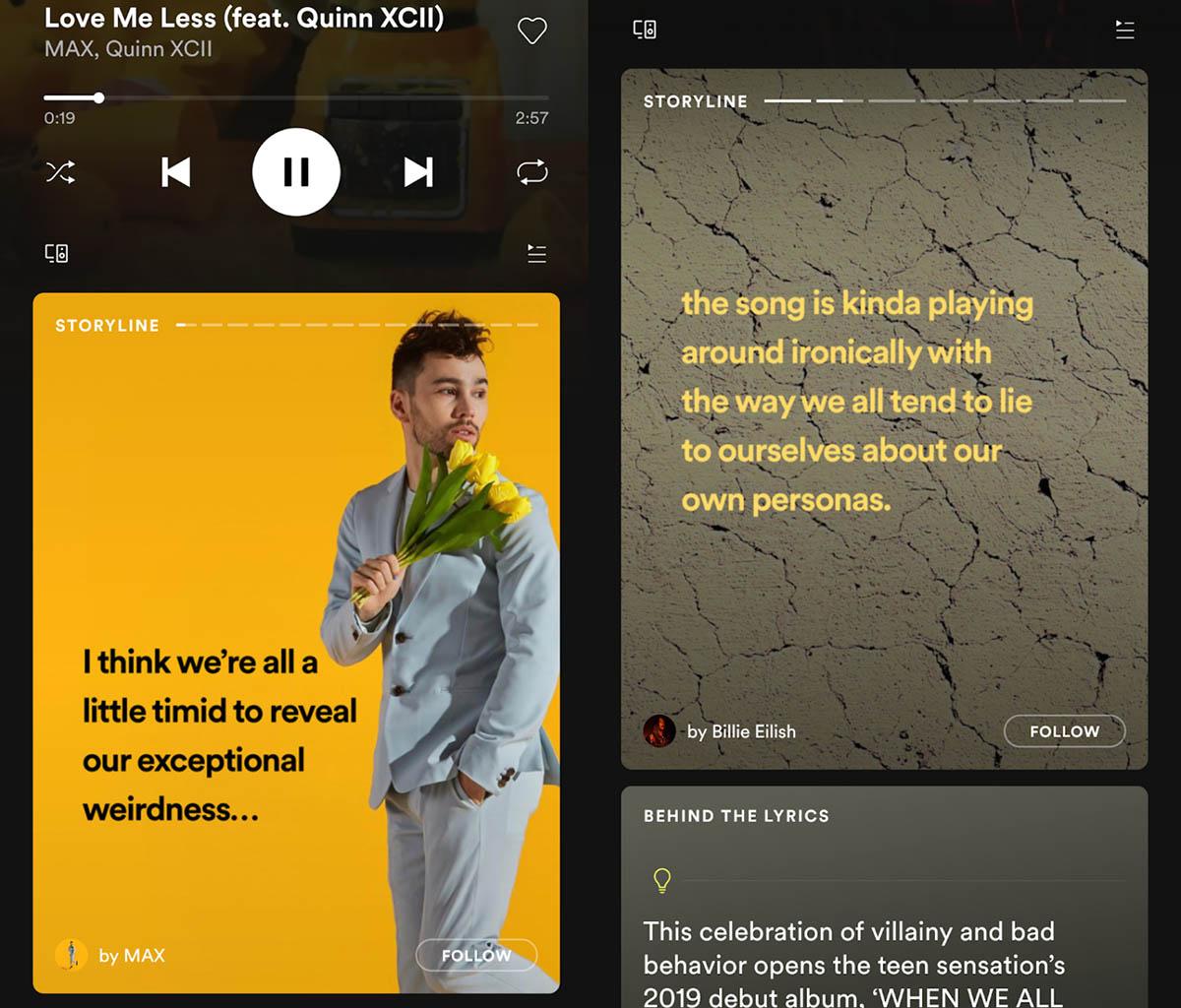 Las Stories de Spotify llegan para quedarse
