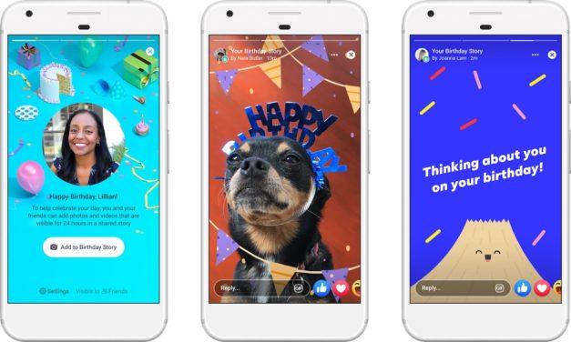 Cómo crear las nuevas tarjetas de cumpleaños para Facebook Stories