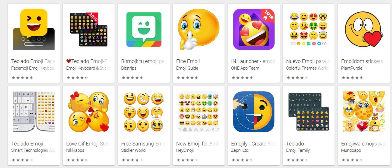 10 aplicaciones para usar los emoticonos Emoji de iPhone en tu Android