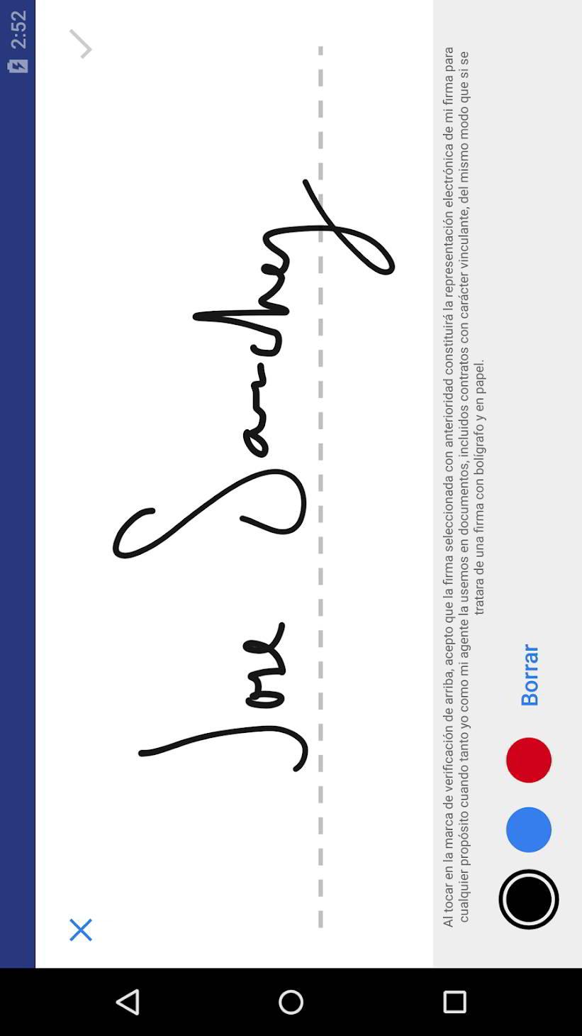 5 aplicaciones para firmar documentos en Android 1