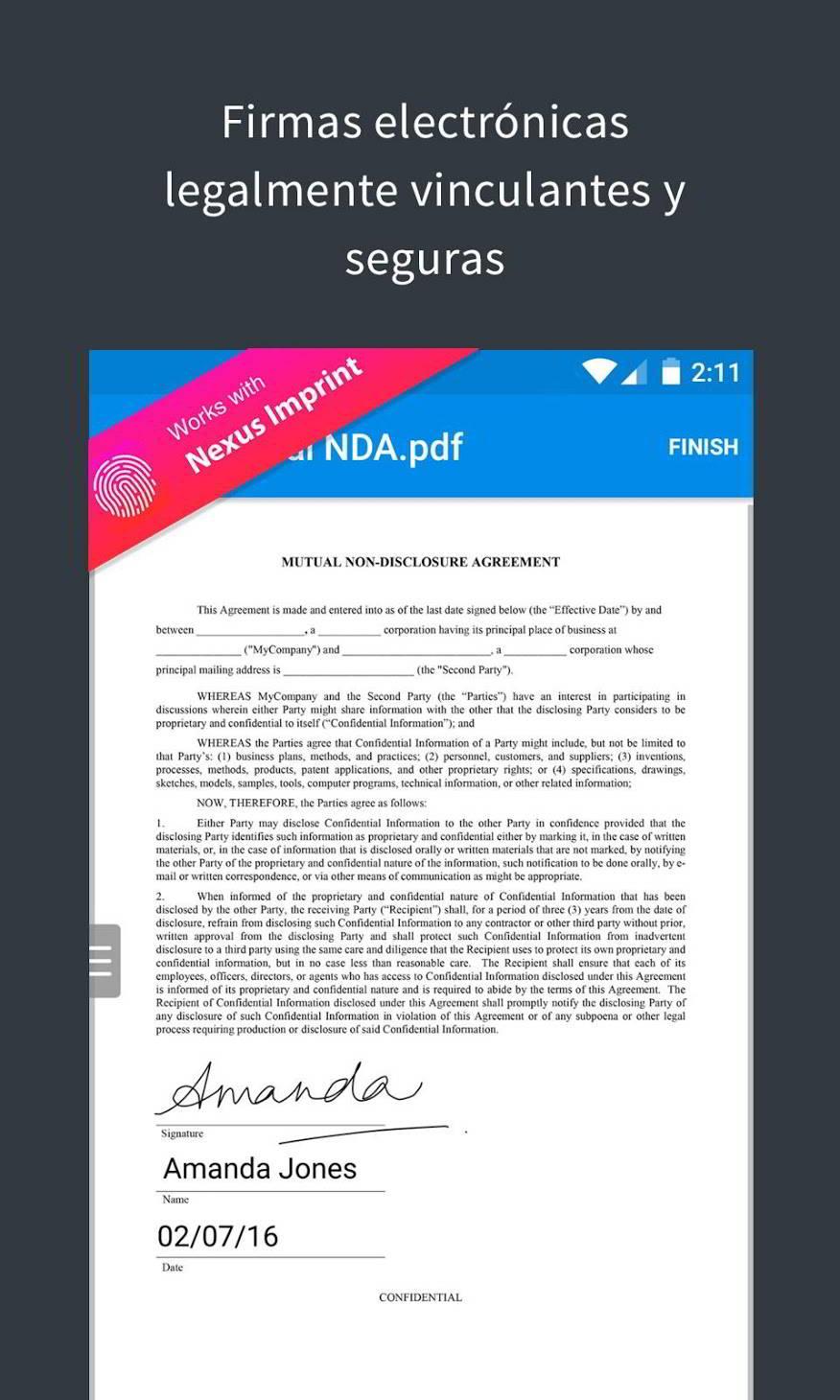 5 aplicaciones para firmar documentos en Android 2
