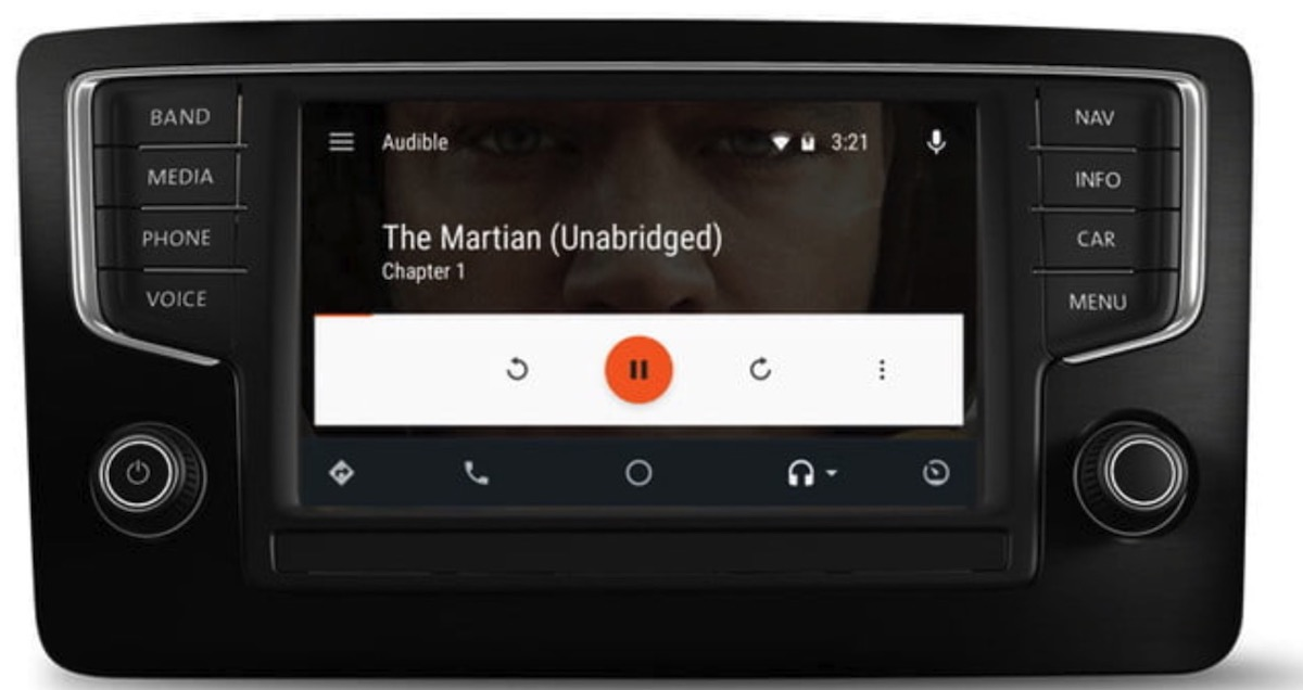 Audible con Android Auto