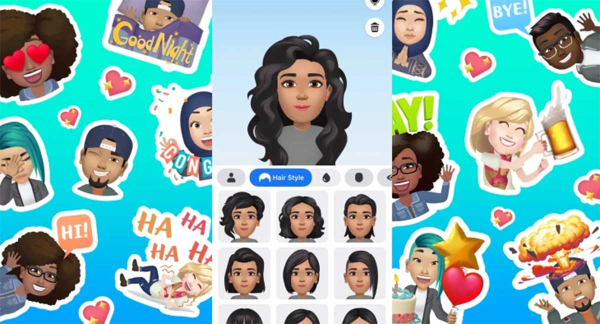 Facebook contará con sus propios Avatares al estilo Bitmoji