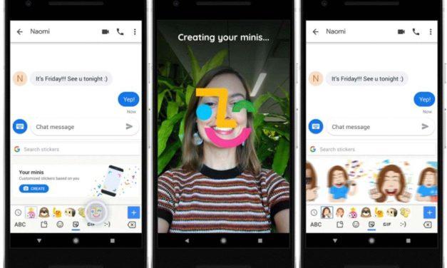 Cómo hacer stickers de caricaturas de tu cara con el teclado Gboard de Google