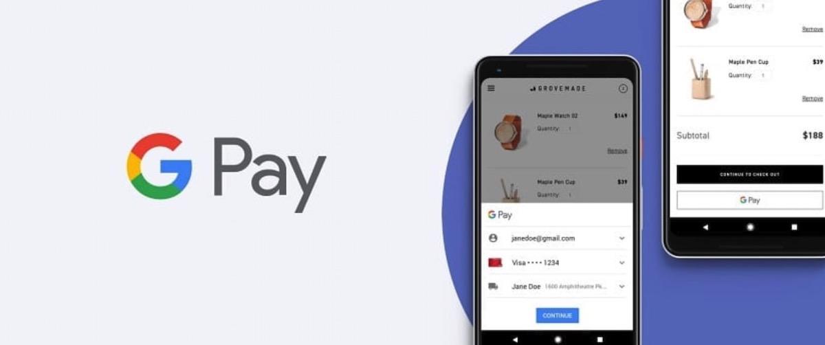 Ya puedes pagar con tu cuenta de PayPal a través de Google Pay