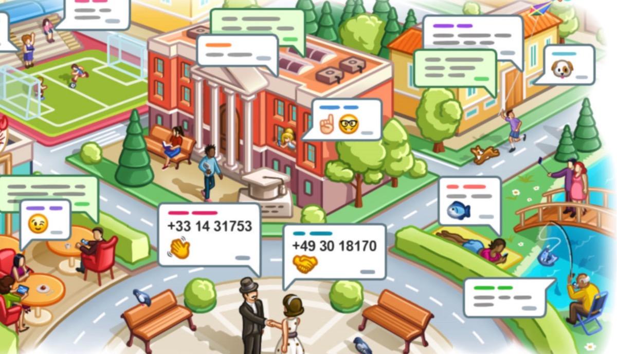 Cómo añadir contactos o grupos cercanos a Telegram