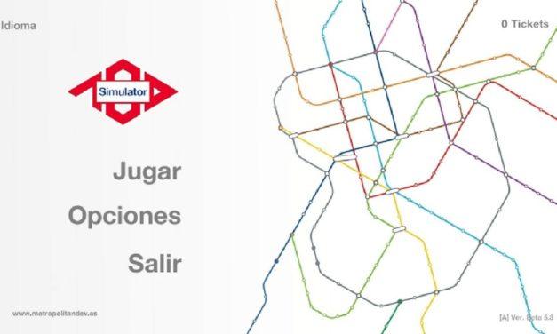 Conduce un tren del Metro de Madrid con este simulador