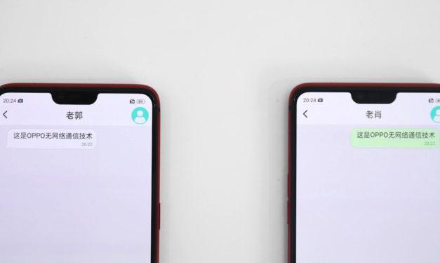 Mesh Talk, la app de Oppo para chatear y hablar sin Internet ni datos