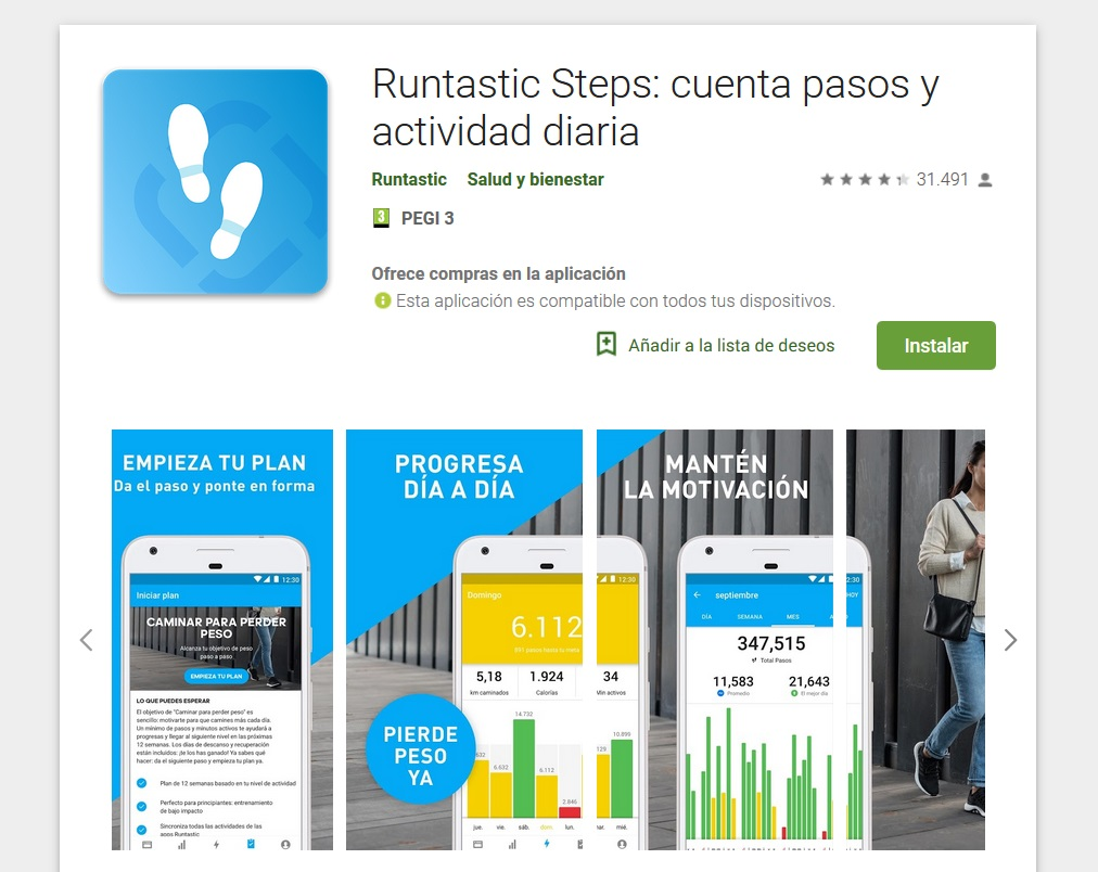 Runtastic Steps