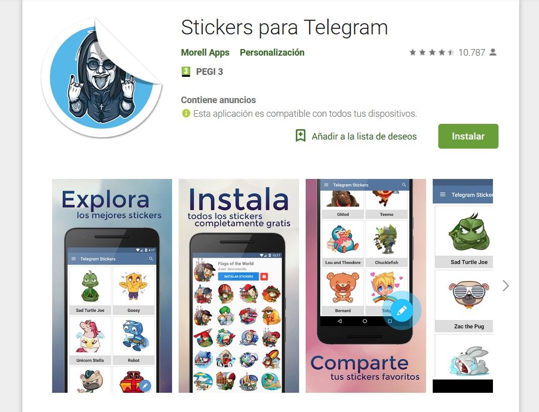 Stickers para Telegram