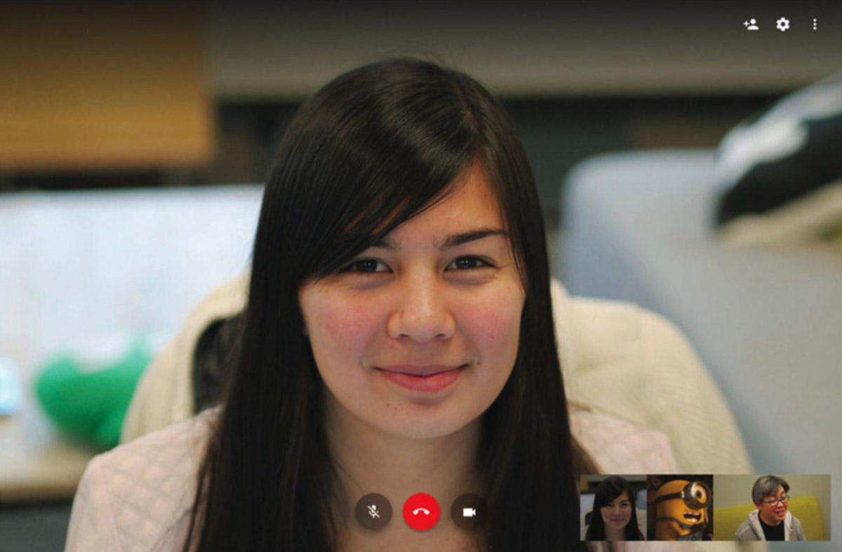Videollamada en Hangouts
