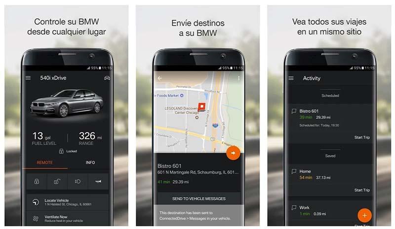 Usa BMW Connected, para disfrutar de tu Android