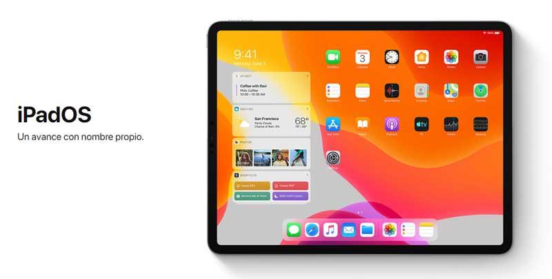 cómo instalar la beta pública de iPadOS en iPad