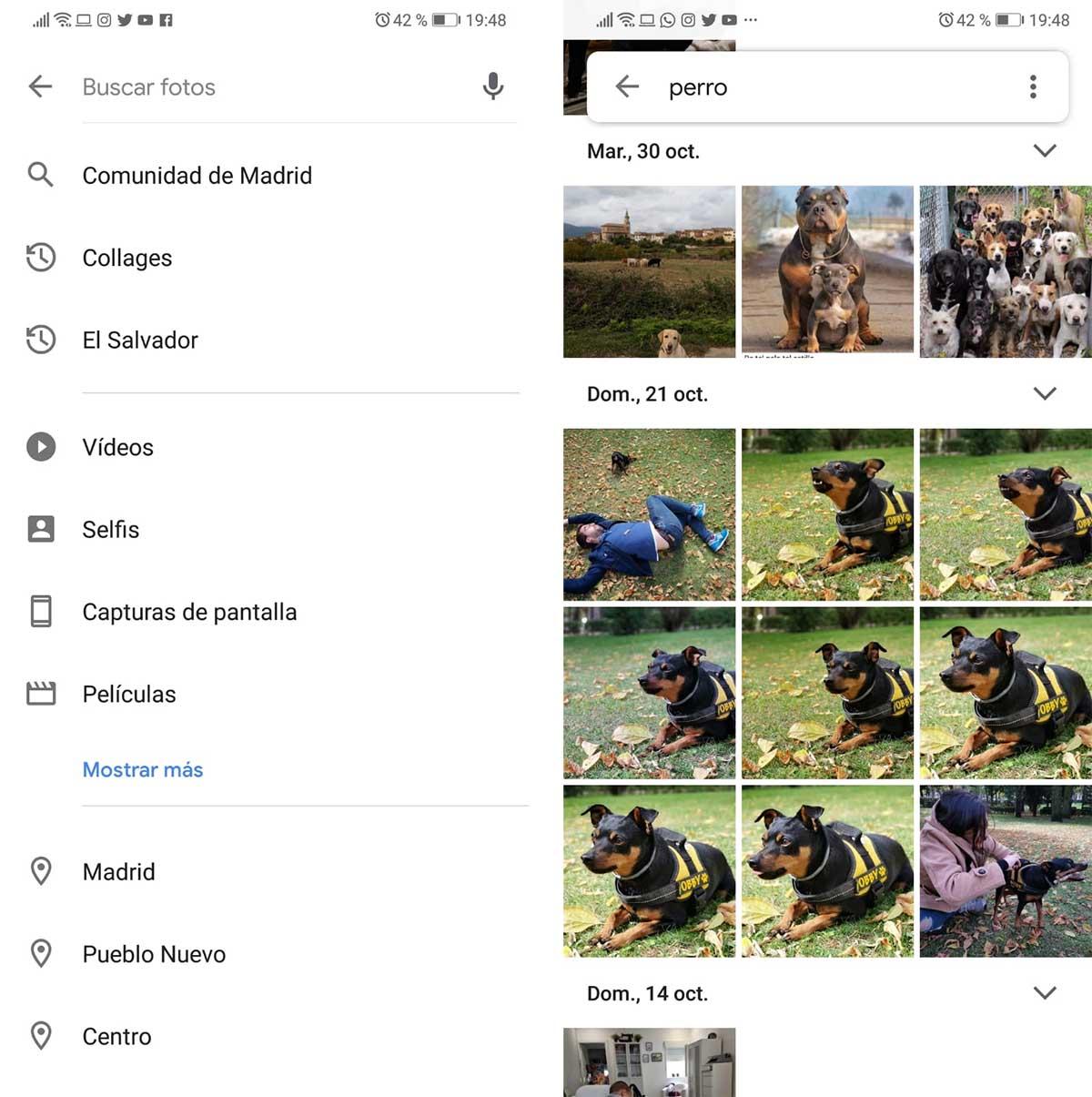 Google fotos próximas funciones