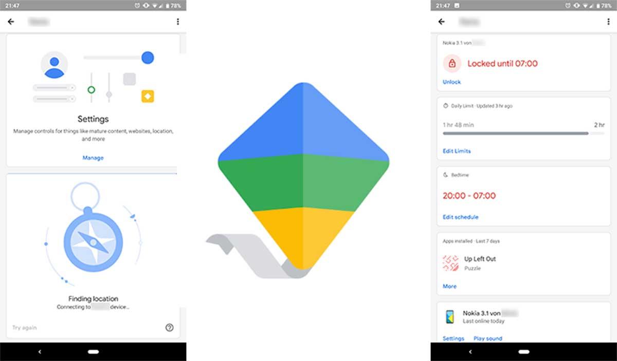 Google family link material deisgn