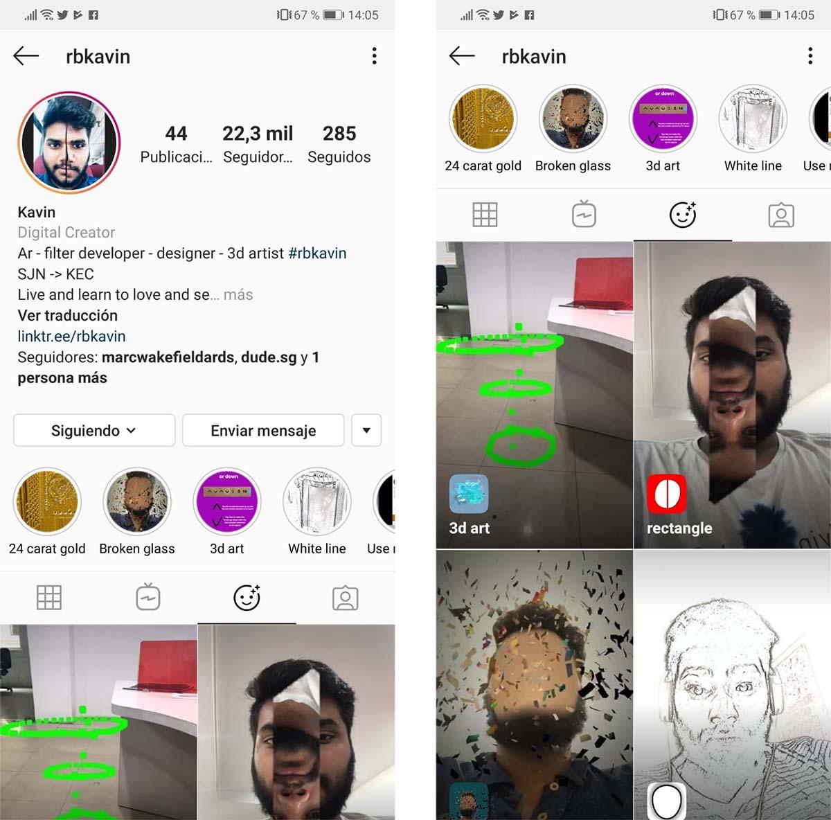 Instagram 3D Art
