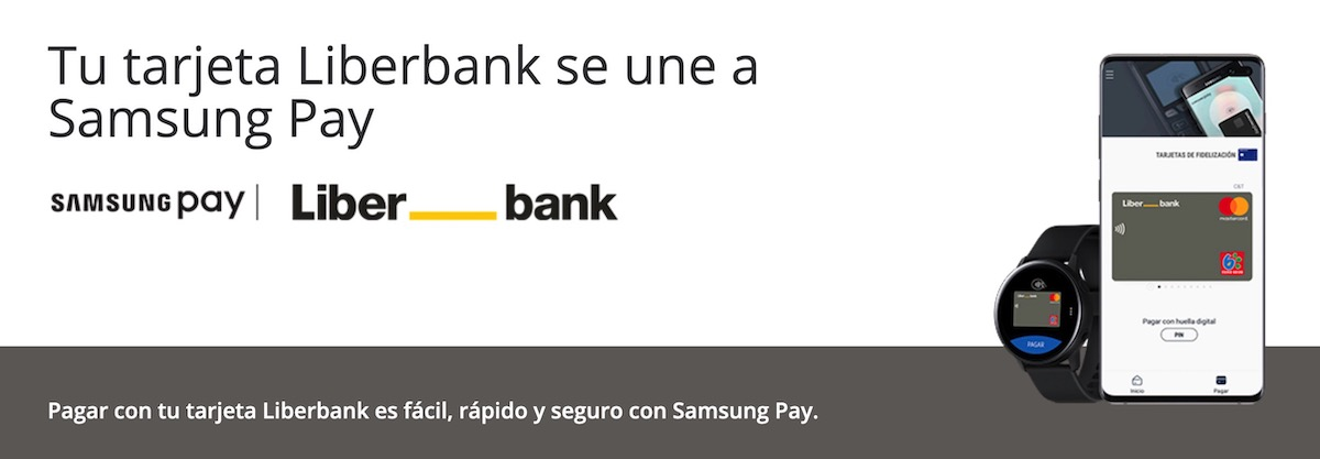 Liberbank compatible con Samsung Pay
