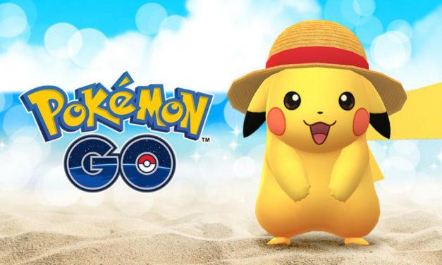 Cómo conseguir a Pikachu con sombrero de paja en Pokémon GO