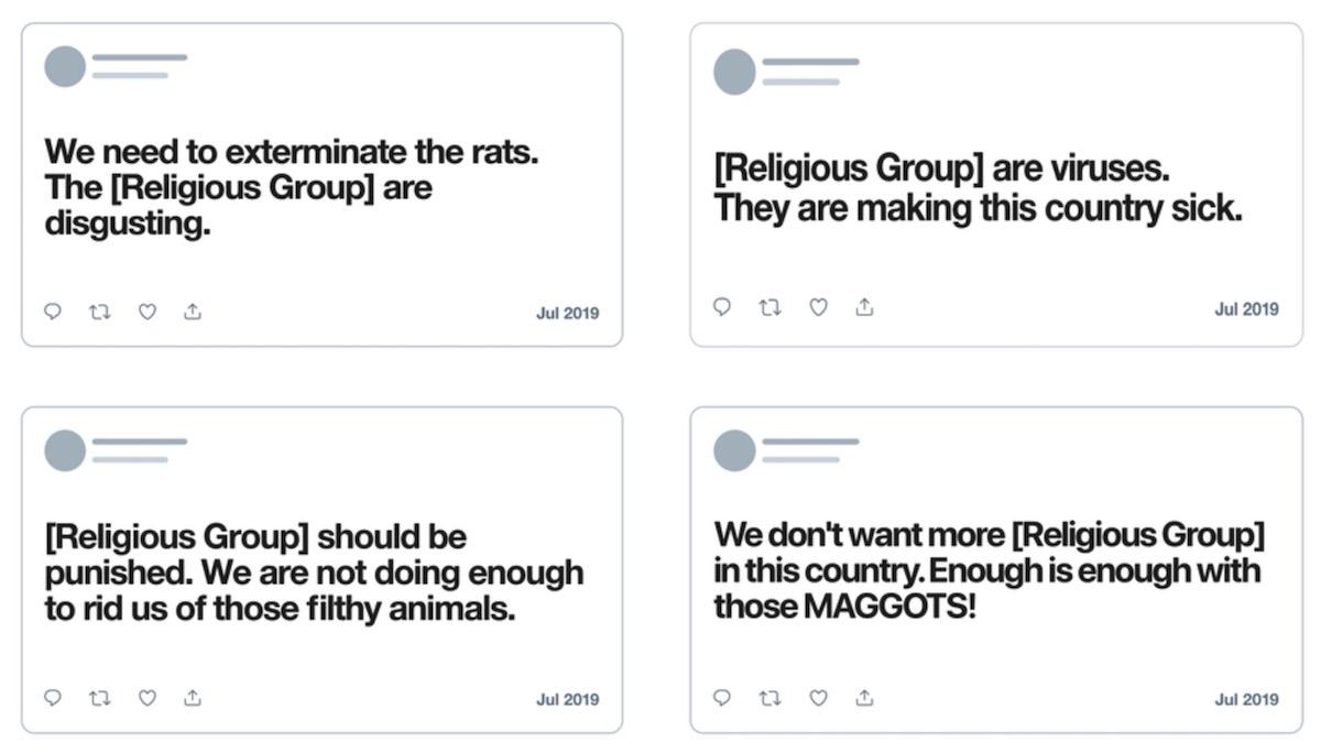 Twitter prohíbe deshumanizar grupos religiosos