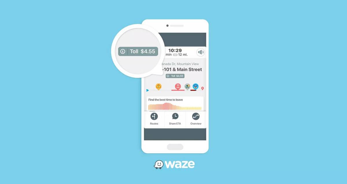 Cómo saber el precio de los peajes en Waze