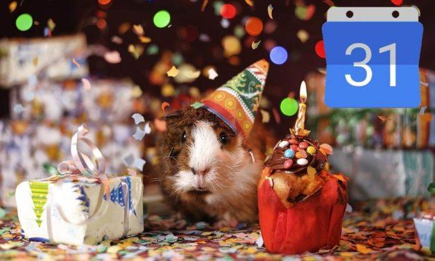 Cómo añadir los cumpleaños de tus amigos a Google Calendar