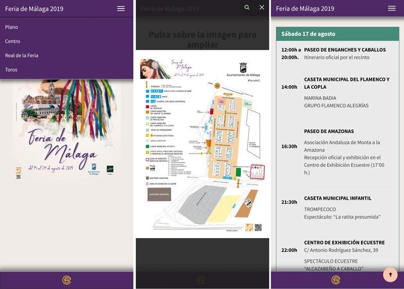 feria de malaga 2019 app