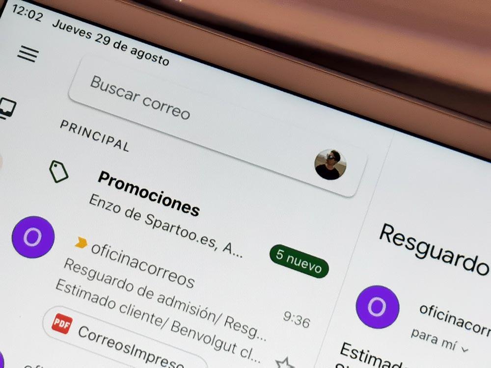 Cómo cambiar rápidamente de cuenta en Gmail para Android