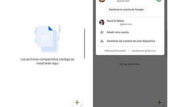 Google Maps y Google Drive, así puedes cambiar ahora de cuenta