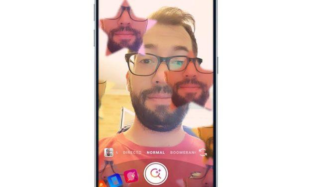 Cómo buscar máscaras RA en Instagram Stories con el Explorador de efectos