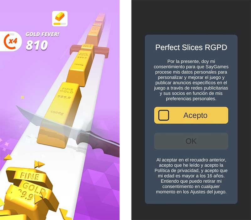 Perfect Slices puede robar tus datos