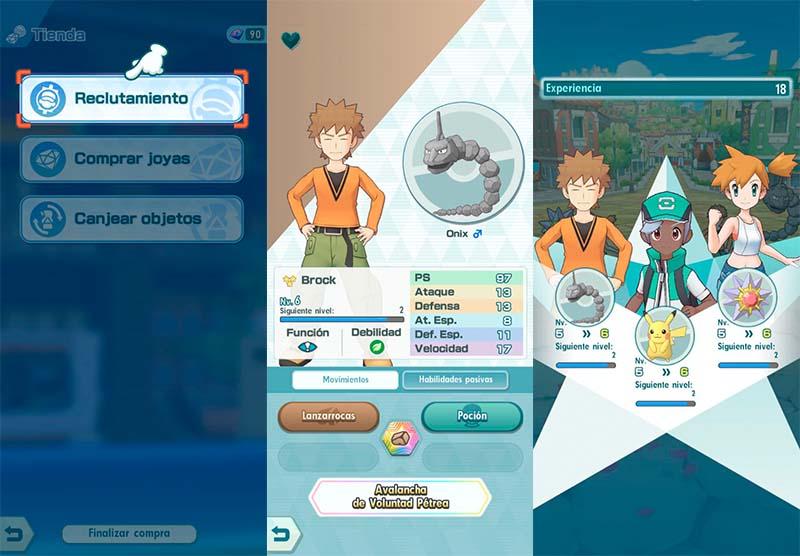 Aprende el funcionamiento de las estadísticas de Pokémon Masters