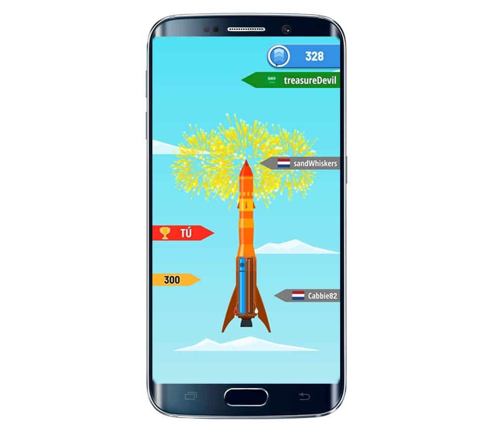 5 consejos para llegar más lejos con tu cohete en Rocket Sky!