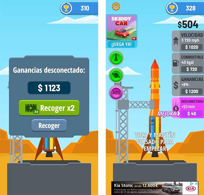 trucos rocket sky