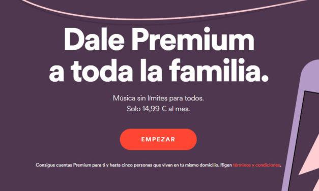 3 nuevas funciones del nuevo plan familiar de Spotify