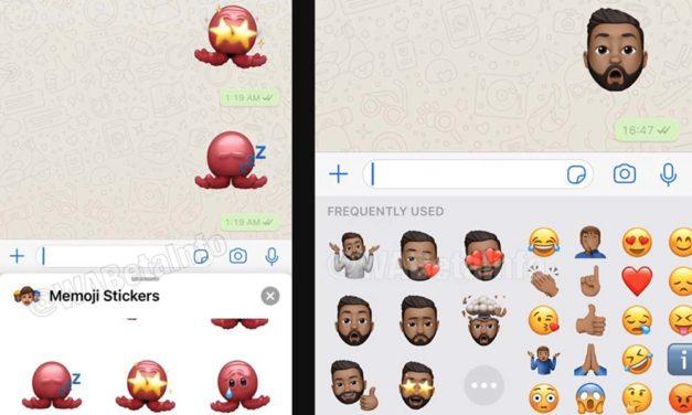 Así lucen los stickers a lo Memoji en WhatsApp para iPhone
