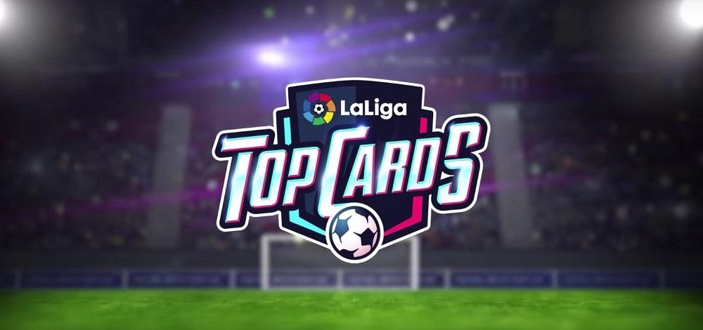 Este juego permite coleccionar los futbolistas de la liga española