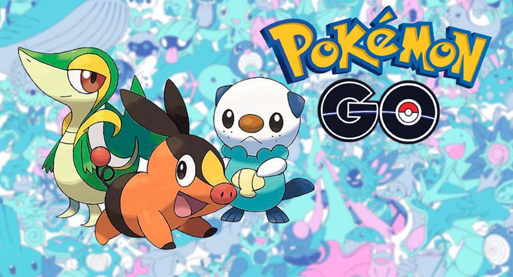 Estos son los Pokémon de Teselia (5a Generación) que llegarán a Pokémon GO