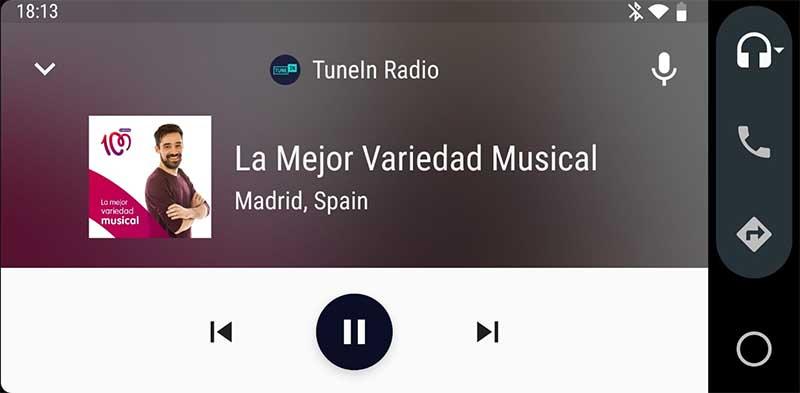 Android auto radio coche