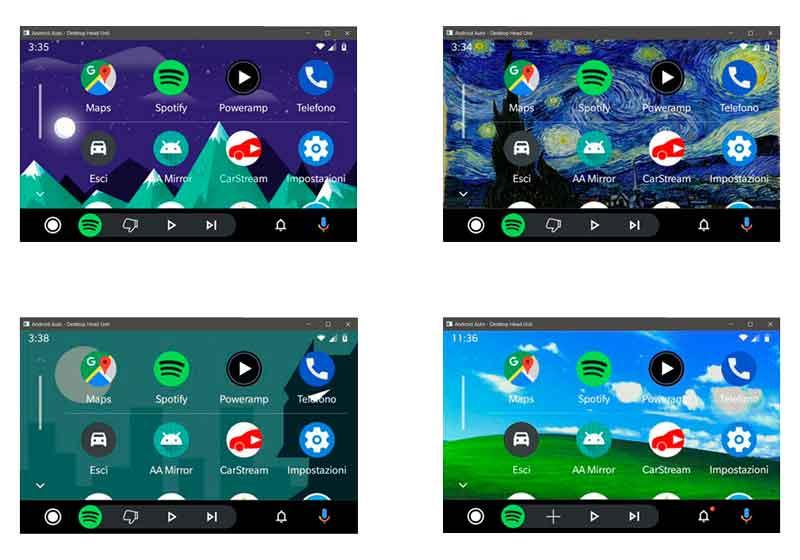 cómo cambiar el fondo de pantalla en la nueva versión de Android Auto fondos