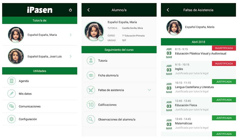 iPasen es la versión para Android e iPhone del programa PASEN