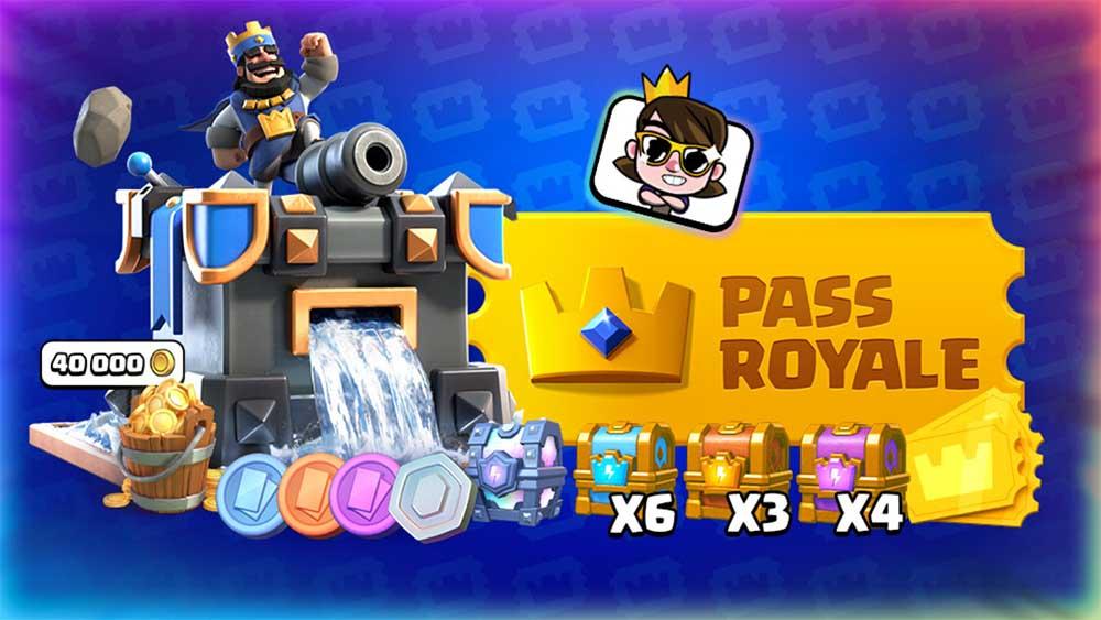 Estos son los premios del Pass Royale en la temporada 3 de Clash Royale