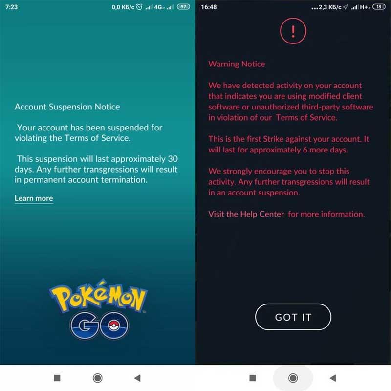 Pokémon Go banea Xiaomi Redmi 5