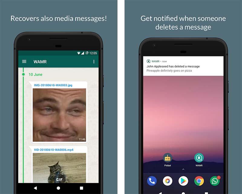 Borrar mensajes en chats de WhatsApp