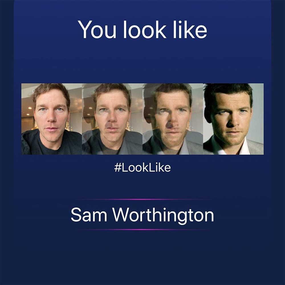 #LookLike, la nueva moda de cambio de caras con famosos de Instagram