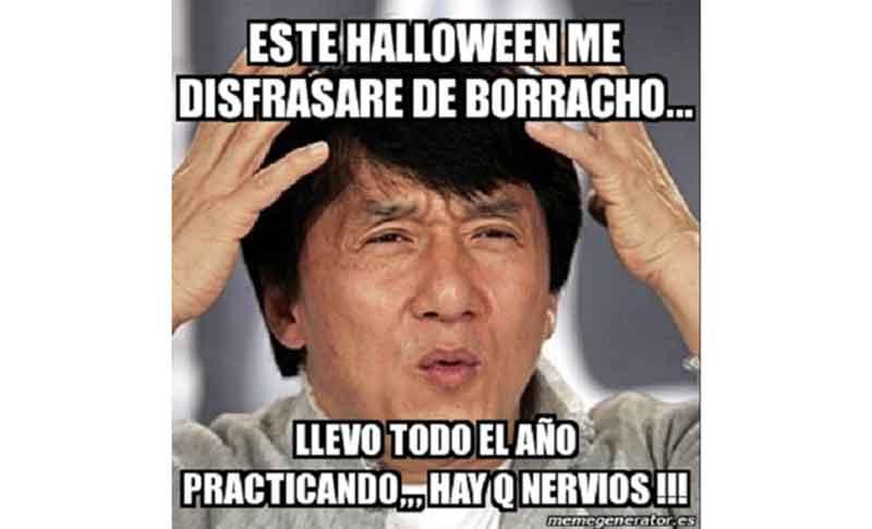 mejores memes de Halloween para compartir por WhatsApp y Twitter borracho