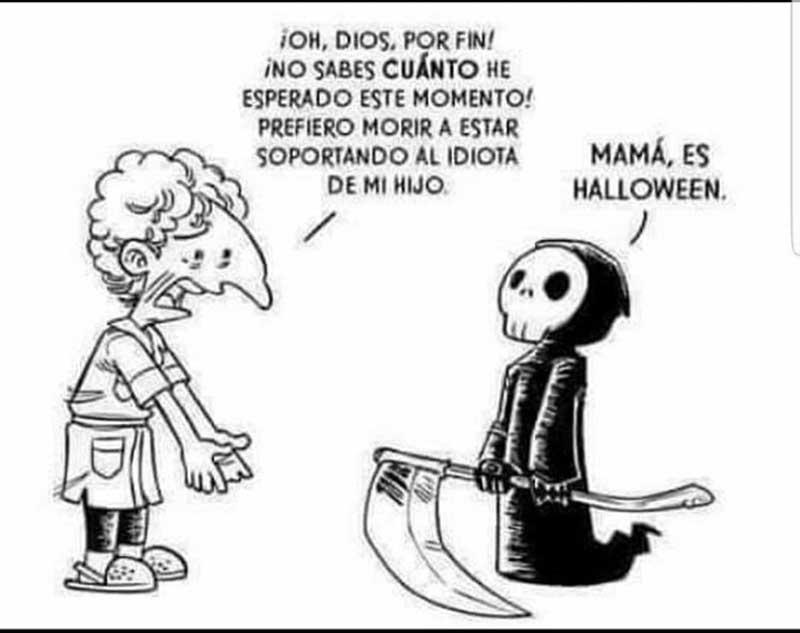 mejores memes de Halloween para compartir por WhatsApp y Twitter hijos