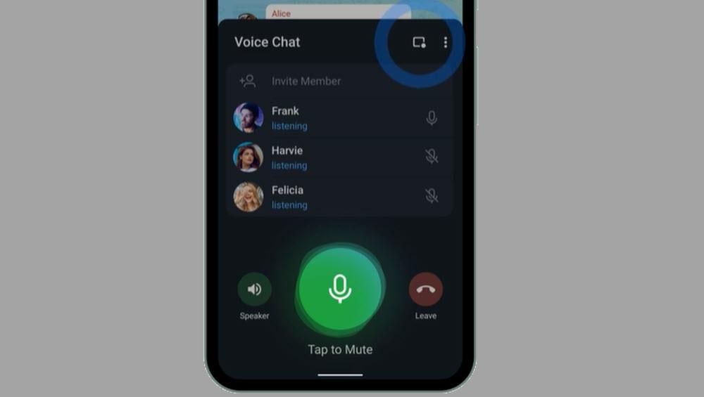 Así funcionan los nuevos chats de voz en Telegram